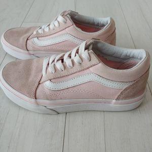 VANS old skool pink skate shoes